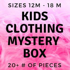20 + piece mixed Children Clothing mystery box